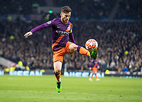 Football - 2018 / 2019 UEFA Champions League - Quarter Final , First Leg: Tottenham Hotspur vs. Manchester City<br /> <br /> David Silva (Manchester City) brings the high ball under control <br /> at White Hart Lane Stadium.<br /> <br /> COLORSPORT/DANIEL BEARHAM
