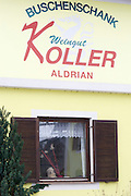 Easter in Southern Styria, Austria. Kitzeck in the snow. Buschenschank Koller.