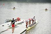 Chungju, South Korea. 2013 FISA World Rowing Championships, General Views of the  Tangeum Lake International Regatta Course. 08:45:09  Saturday  24/08/2013 [Mandatory Credit. Peter Spurrier/Intersport Images]