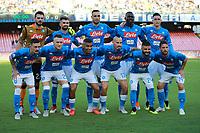 Formazione Napoli Line Ups Team<br /> Napoli 15-09-2018  Stadio San Paolo <br /> Football Campionato Serie A 2018/2019 <br /> Napoli - Fiorentina<br /> Foto Cesare Purini / Insidefoto