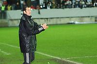 Fotball Royal League Trondheimn 11.11.2004 – Rosenborg – Djurgården 4-4, ny hovedtrener for RBK Per Joar Hansen<br /><br />Foto: Carl-Erik Eriksson, Digitalsport