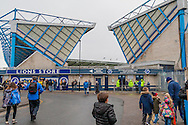 The North Stand at Millwall before the fourth round FA Cup match at The Den, London<br /> Picture by Richard Brooks/Focus Images Ltd 07947656233<br /> 29/01/2017