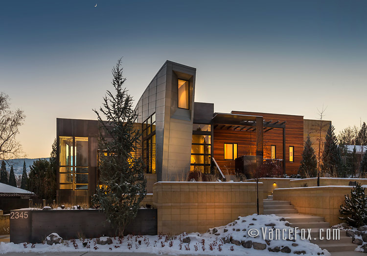 Crescent Circle Home, Reno, Nv by Dianda Construction and Cathexes Architecture. Vance Fox Photography