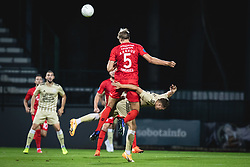 during football match between NS Mura and AGF Aarhus in Second Round of UEFA Europa League Qualifications, on September 17, 2020 in Stadium Fazanerija, Murska Sobota, Slovenia. Photo by Blaz Weindorfer / Sportida