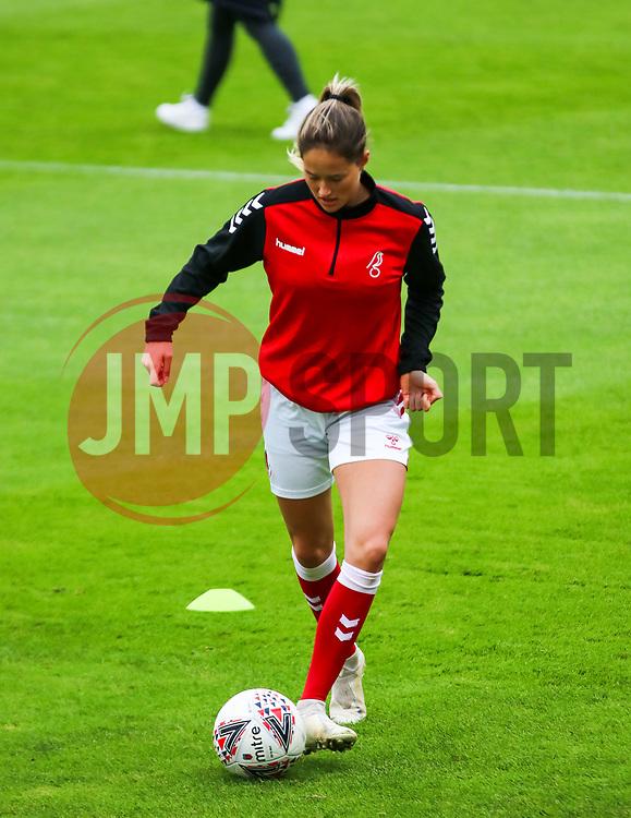Georgia Wilson of Bristol City Women - Mandatory by-line: Will Cooper/JMP - 18/10/2020 - FOOTBALL - Twerton Park - Bath, England - Bristol City Women v Birmingham City Women - Barclays FA Women's Super League