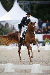 Kittel Patrick, (SWE), Watermill Scandic HBC<br /> Interchem prijs Grand Prix Freestyle CDI5*<br /> CHIO Rotterdam 2015<br /> © Hippo Foto - Dirk Caremans<br /> 20/06/15