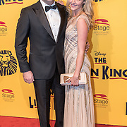 NLD/Scheveningen/20161030 - Premiere musical The Lion King, Lisa Sips en partner Ralph Mannheim