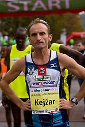 Roman Kejzar of Slovenia at Start at 14th Marathon of Ljubljana, on October 25, 2009, in Ljubljana, Slovenia.  (Photo by Vid Ponikvar / Sportida)