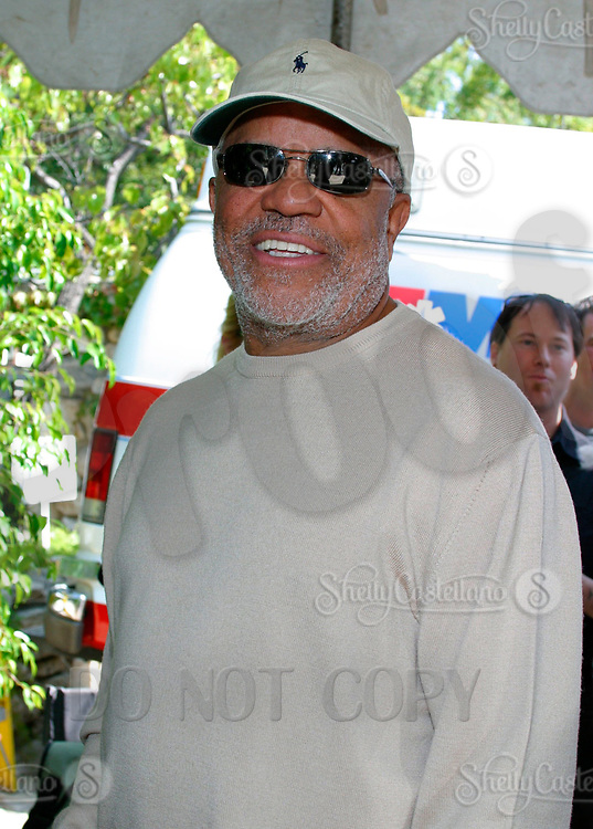 Jul 09, 2002; Los Angeles, CA, USA; Motown producer BERRY GORDY arrives @ SUGAR RAY LEONARD BOXING first year anniversary which was celebrated with a live fight night on ESPN2 from the Playboy Mansion in Holmby Hills.  Over 350 invited guests attended the cocktail reception and showdown in the back yard of Playboy HUGH HEFNER's 5.5 acre estate. <br />Mandatory Credit: Photo by Shelly Castellano/ZUMA Press.<br />(©) Copyright 2002 by Shelly Castellano