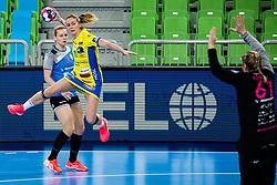 Houette Manon of Metz Handball (FRA)  during handball match between RK Krim Mercator (SLO) vs Metz Handball  (FRA) in DELO EHF Women's Champions League 2020/21, on January 16, 2021 in SRC Stozice, Ljubljana, Slovenia. Photo by Grega Valancic / Sportida