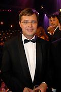 MIS(S) VERKIEZING 2007 vanuit Studio Baarn. De verkiezing van de  mooiste, slimste, charmantste en meest betrokken gehandicapte jonge vrouw van Nederland.<br /> <br /> Op de foto:<br /> <br />  Jan Peter Balkenende