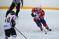 Ishockey<br /> 17. April 2015<br /> Landskamp<br /> Bergenshallen<br /> Norge - Latvia 2 - 1<br /> Rodrigo Abols (L) , Latvia<br /> Mathis Olimb (R) , Norge<br /> Foto: Astrid M. Nordhaug