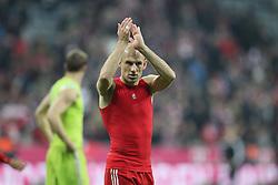 01-11-2014 GER: FC Bayern Munchen vs Borussia Dortmund, Munchen<br /> Arjen Robben #10 (FC Bayern Muenchen)<br /> *****NETHERLANDS ONLY*****