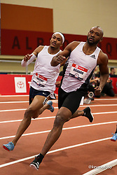 2020 USATF Indoor Championship<br /> Albuquerque, NM 2020-02-15<br /> photo credit: © 2020 Kevin Morris<br /> mens 400m adidas