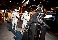 Darth Vader and some stormtroopers make an appearance at the Electronic Entertainment Expo  June 5, 2012 at the Los Angeles Convention Center. Copyright 2012 by David Sprague