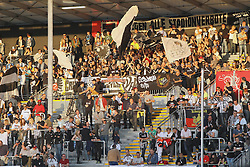 03.10.2014, Scholz Arena, Aalen, GER, 2. FBL, VfR Aalen vs TSV 1860 Muenchen, 9. Runde, im Bild VfR Aalen Fans // during the 2nd German Bundesliga 9th round match between VfR Aalen and TSV 1860 Muenchen at the Scholz Arena in Aalen, Germany on 2014/10/03. EXPA Pictures © 2014, PhotoCredit: EXPA/ Eibner-Pressefoto/ Langer<br /> <br /> *****ATTENTION - OUT of GER*****