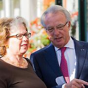 NLD/Amsterdam/20150926 - Afsluiting viering 200 jaar Koninkrijk der Nederlanden, Jozias van Aartsen en partner Henriette Warsen