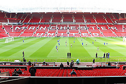 03-05-2011 VOETBAL: SEMI FINAL CL MANCHESTER UNITED - SCHALKE 04: MANCHESTER<br /> Training Schalke 04 on Old Trafford, Manchester<br /> *** NETHERLANDS ONLY***<br /> ©2011-FH.nl- expa-nph/ Mueller