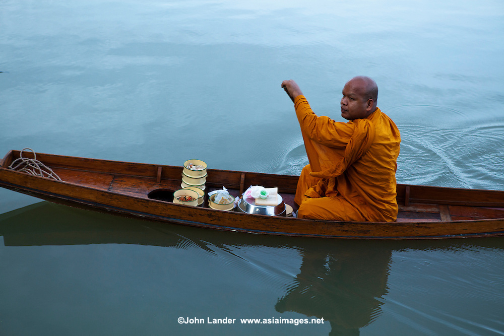 Most activities are carried out on the Mae Klong River or the connecting canals in the Amphawa area. This includes monks traveling from temple to temple and even collecting alms by boat.  Boats and waterways are still a way of life in this area, only two hours by train or car from Bangkok.