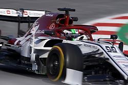 February 19, 2019 - Barcelona, Barcelona, Spain - Antonio Giovinazzi of Italy driving the (99) Alfa Romeo Racing C38during day two of F1 Winter Testing at Circuit de Catalunya on February 19, 2019 in Montmelo, Spain. (Credit Image: © Jose Breton/NurPhoto via ZUMA Press)