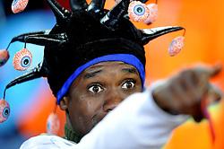 19.06.2010, Loftus Versfeld Stadium, Pretoria, RSA, FIFA WM 2010, Cameroon (CMR) vs Denmark (DEN), im Bild Tifoso del Camerun, Fans from Cameroon.EXPA Pictures © 2010, PhotoCredit: EXPA/ InsideFoto/ Giorgio Perottino +++ for AUT and SLO only +++ / SPORTIDA PHOTO AGENCY