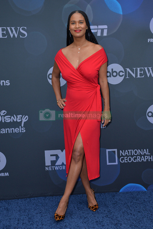 May 14, 2019 - New York, NY, USA - May 14, 2019  New York City..Joy Bryant attending Walt Disney Television Upfront presentation party arrivals at Tavern on the Green on May 14, 2019 in New York City. (Credit Image: © Kristin Callahan/Ace Pictures via ZUMA Press)