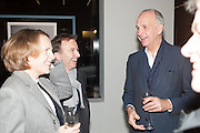 ANNABELLE SELLDORF; TONY CHAMBERS; RICHARD JAMES, Editor of Wallpaper: Tony Chambers and architect Annabelle Selldorf host drinks to celebrate the collaboration between the architect and three of Savile Row's finest: Hardy Amies, Spencer hart and Richard James. Hauser and Wirth Gallery. ( Current show Isa Genzken. ) savile Row. London. 9 January 2012.