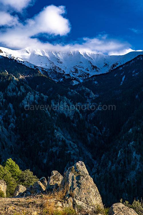 Pic de Canigou, Pyrenees Orientales, France