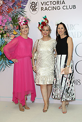 Ahead of Kennedy Oaks Day, the traditional Ladies' Day of the Melbourne Cup Carnival, the prestigious and time-honoured tradition that is the VRC Kennedy Oaks Club Lunch took place at Crown Palladium. 07 Nov 2018 Pictured: guests. Photo credit: Richard Milnes / MEGA TheMegaAgency.com +1 888 505 6342
