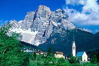Selva di Cadore (Monte Pelmo in background), Dolomites, Northern Italy