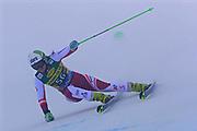SOELDEN, AUSTRIA. OCTOBER 17 2020:  1st Women's Giant Slalom as part of the Alpine Ski World Cup in Solden on October 17, 2020; Run 1, Katharina Huber (AUT) ( Pierre Teyssot/ESPA Images-Image of Sport)