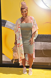"""Torrei Hart arrives at the """"Despicable Me 3"""" Los Angeles Premiere held at the Shrine Auditorium in Los Angeles, CA on Saturday, June 24, 2017.  (Photo By Sthanlee B. Mirador) *** Please Use Credit from Credit Field ***"""