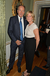 LORD & LADY BRUCE DUNDAS at an evenig of Jewellery & Photography to launch the Buccellati 'Opera Collection' held at Spencer House, London on 21st October 2015.