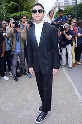 Rami Malek attending the Dior Homme show during the Paris Men&