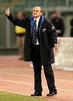 Roma, 12 / 02 / 2005 Campionato di calcio di serie A 2004 - 2005 24a Giornata -  Lazio - Atalanta - nella foto: L'allenatore dell'Atalanta Delio Rossi