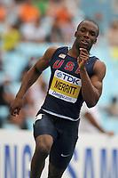 ATHLETICS - IAAF WORLD CHAMPIONSHIPS 2011 - DAEGU (KOR) - DAY 2 - 28/08/2011 - MEN 400M - LASHAWN MERRITT (USA) - PHOTO : FRANCK FAUGERE / KMSP / DPPI