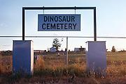 Town Cemetery for Dinosaur, Colorado.