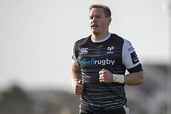 March 2, 2019 - Galway, Ireland - Hanno Dirksen of Ospreys during the Guinness PRO 14 match  between Connacht Rugby and Ospreys at the Sportsground in Galway, Ireland on March 2, 2019  (Credit Image: © Andrew Surma/NurPhoto via ZUMA Press)