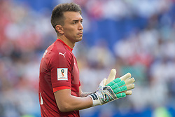 June 25, 2018 - Samara, Russia - Goalkeeper Fernando Muslera (1) of Uruguay in action during the 2018 FIFA World Cup Russia group A match between Uruguay and Russia at Samara Arena on June 25, 2018 in Samara, Russia. (Credit Image: © Foto Olimpik/NurPhoto via ZUMA Press)