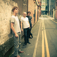 Manchester blues/rock band Turrentine Jones photographed in around the the Northern Quarter, Manchester
