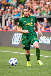 November 4, 2018 - Portland, OR, U.S. - PORTLAND, OR - NOVEMBER 04: Portland Timbers forward Lucas Melano (26) drives a counter attack during the Portland Timbers first leg of the MLS Western Conference Semifinals against the Seattle Sounders on November 04, 2018, at Providence Park in Portland, OR. (Photo by Diego Diaz/Icon Sportswire) (Credit Image: © Diego Diaz/Icon SMI via ZUMA Press)