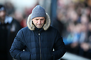 Paul Tisdale, the manager of Exeter City looks on.EFL Skybet football league two match, Newport county v Exeter City  at Rodney Parade in Newport, South Wales on New Years Day, Monday 1st January 2018.<br /> pic by Andrew Orchard,  Andrew Orchard sports photography.