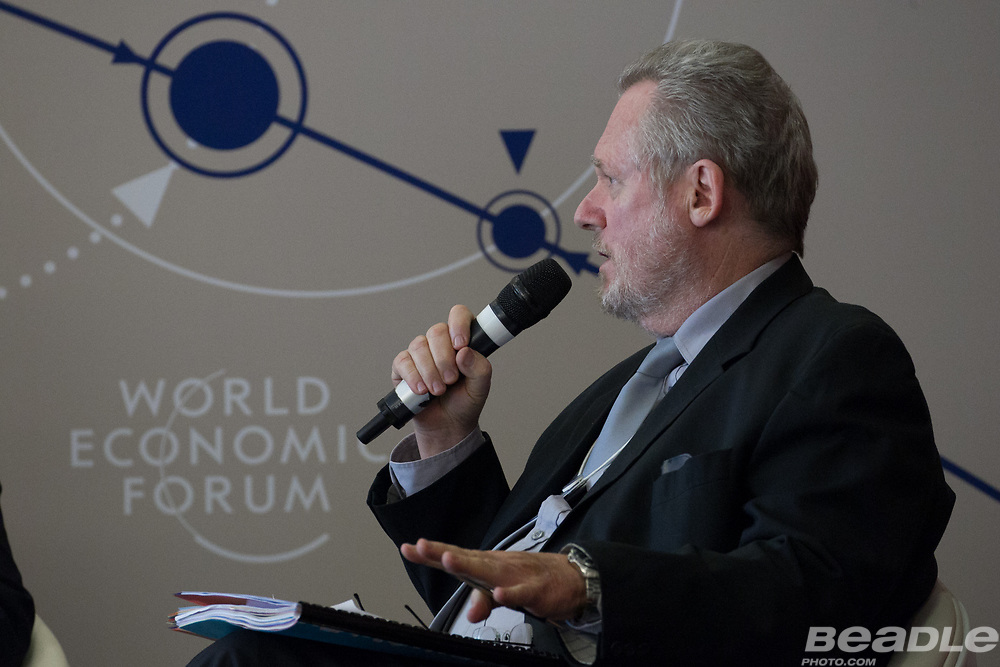 Rob Davies, Minister of Trade and Industry<br /> Ministry of Trade and Industry of South Africa at the World Economic Forum on Africa 2017 in Durban, South Africa. Copyright by World Economic Forum / Greg Beadle
