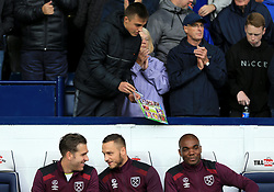 A West Bromwich Albion fan waits for autographs as he is ignored by Adrian, Marko Arnautovic and Angelo Ogbonna of West Ham United - Mandatory by-line: Paul Roberts/JMP - 16/09/2017 - FOOTBALL - The Hawthorns - West Bromwich, England - West Bromwich Albion v West Ham United - Premier League