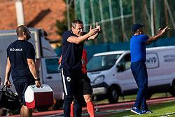 Primoz Gliha head coach of Slovenia during football match between Slovenia and Kazahstan in Qualifying round for European Under-21 Championship 2019, on September 11, 2018 in Mestni Stadium Ptuj, Slovenija, 2018. Photo Grega Valancic