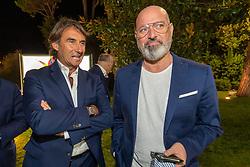 GIOVANNI CARNEVALI E STEFANO BONACCINI<br /> CALCIOMERCATO 2020 RIMINI<br /> RIMINI 01-09-2020<br /> FOTO FILIPPO RUBIN / MASTER GROUP SPORT