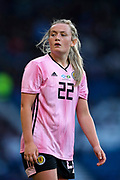 Erin Cuthbert (#22) of Scotland looks on during the International Friendly match between Scotland Women and Jamaica Women at Hampden Park, Glasgow, United Kingdom on 28 May 2019.