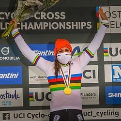 OOSTENDE (BEL) CYCLOCROSS<br />Lucinda Brand pakt de wereldtitel bij de vrouwen