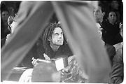 Ben Stiller at Calvin Klein fashion show, New York. 1995© Copyright Photograph by Dafydd Jones 66 Stockwell Park Rd. London SW9 0DA Tel 020 7733 0108 www.dafjones.com