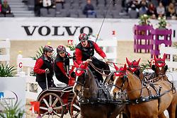 Voutaz Jérome, SUI, 6A Belle du Peupe CH - 6B Eva III CH - 6D Folie Des Moulins CH - 6E - Leny CH<br /> Gothenburg Horse Show FEI World Cups 2017<br /> © Hippo Foto - Stefan Lafrentz<br /> 26/02/17